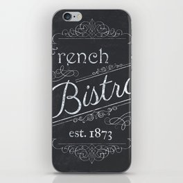 French Bistro 2 iPhone Skin