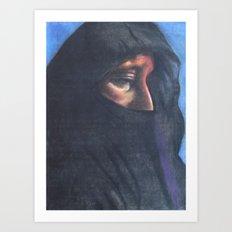 Moroccan Woman Art Print