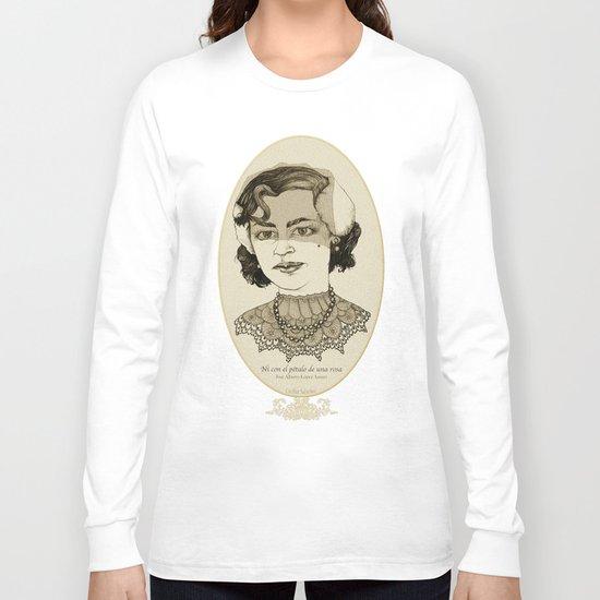 Ni con el pétalo de una rosa Long Sleeve T-shirt