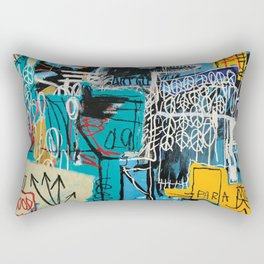 the strokes not the same anymore Rectangular Pillow