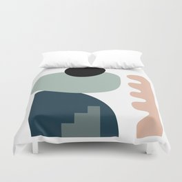 Shape study #18 - Stackable Collection Duvet Cover