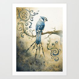 Something Borrowed, Something Blue Art Print