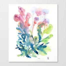 fresh flower art Canvas Print