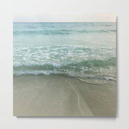 Twilight Beach Metal Print