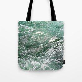 Emerald Water Tote Bag