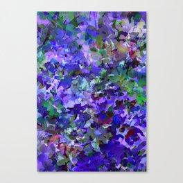 Deep Violet Woods Canvas Print