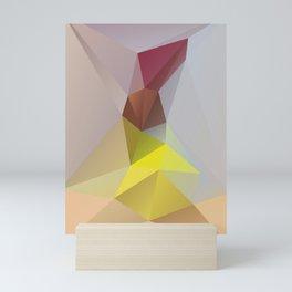 Sari – modern polygram illustration, wall art print Mini Art Print
