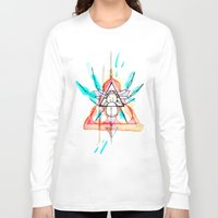 mother Long Sleeve T-shirts featuring MOTHER by Mikah Washed