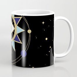 The Solar System Colored Version Coffee Mug