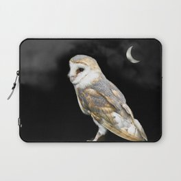 The Owl and the Moon Laptop Sleeve