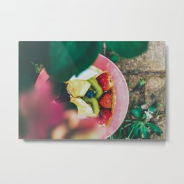 Fruity Fruit Metal Print
