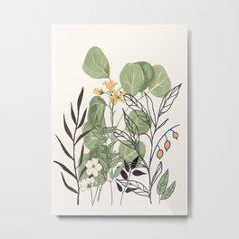 Spring Garden III Metal Print