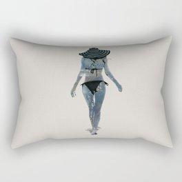 Summer Stencil Rectangular Pillow