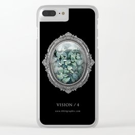 VISION No.4 Clear iPhone Case