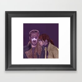 k and joi Framed Art Print