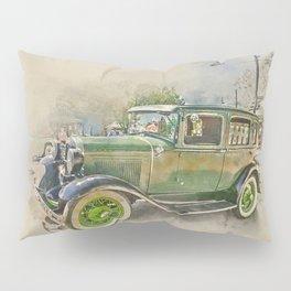 Classic Car Pillow Sham