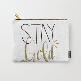 Stay Gold Carry-All Pouch