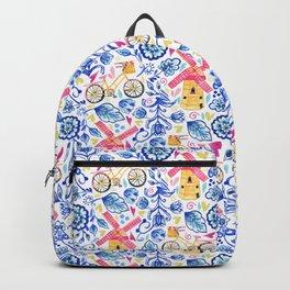 Netherlands Whimsy Backpack