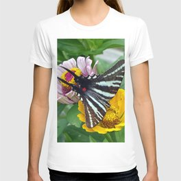 Zebra Swallowtail Butterfly T-shirt