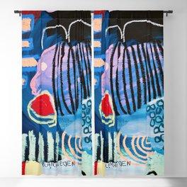 Pez Azul Blackout Curtain