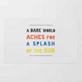Splash of the Sun Rug