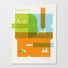 A Tiny Man's Guide To The Universe Canvas Print