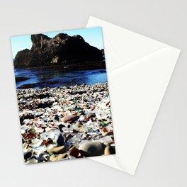 Glass Beach, Fort Bragg California Stationery Cards