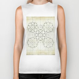 Geometry Sketch Nine Biker Tank