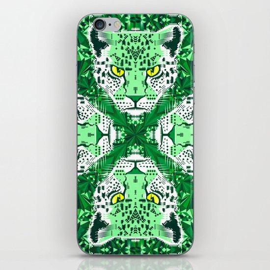 Emerald Leopard  iPhone & iPod Skin