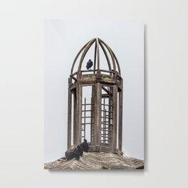 The Birds in the Belfry Metal Print