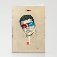 superheroes Stationery Cards featuring Superheroes SF by Blaine Fontana