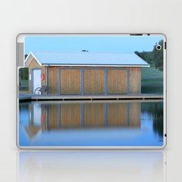 Boat House Blue Laptop & iPad Skin
