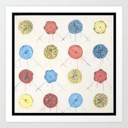 Color and Shape Art Print