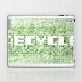 Recycle watercolor mosaic Laptop & iPad Skin