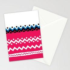 Polygons shape Stationery Cards