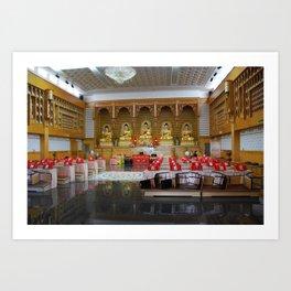 Budhist Temple1 Art Print