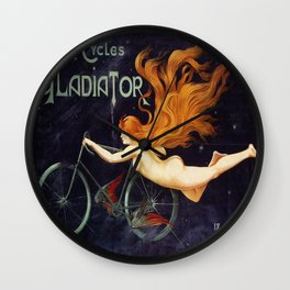 Vintage poster - Cycles Gladiator Wall Clock