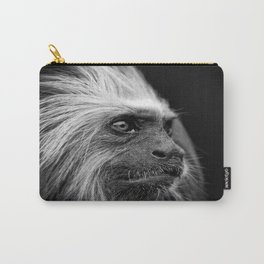 Golden Headed Lion Tamarin Mono Carry-All Pouch