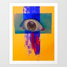 Third eye (waterfall) Art Print