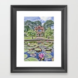 Over The Lily Pond Framed Art Print