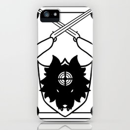 Chasseur iPhone Case