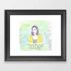 April Ludgate Framed Art Print
