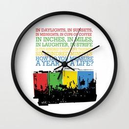 seasons of love Wall Clock