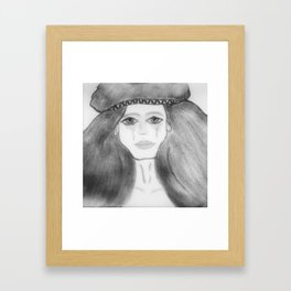 Strong Cry in Completion Framed Art Print