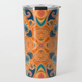 Paisley Mandala 04 Travel Mug