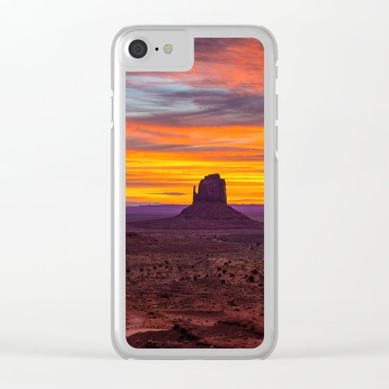 Monument Valley, Utah Clear iPhone Case