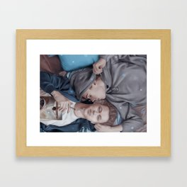 IN THIS UNIVERSE Framed Art Print
