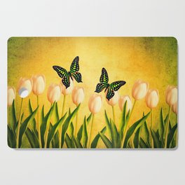 In the Butterfly Garden Cutting Board