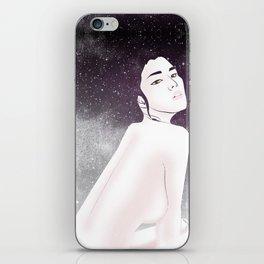 She is Luminous iPhone Skin