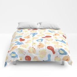 Doodle Birds Comforters